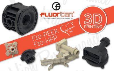 3D printing for F10-PEEK and F10-HPP