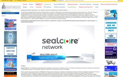 SEALCORE interview at the MIOGE Exhibition 2017 in Moscow, Russia.
