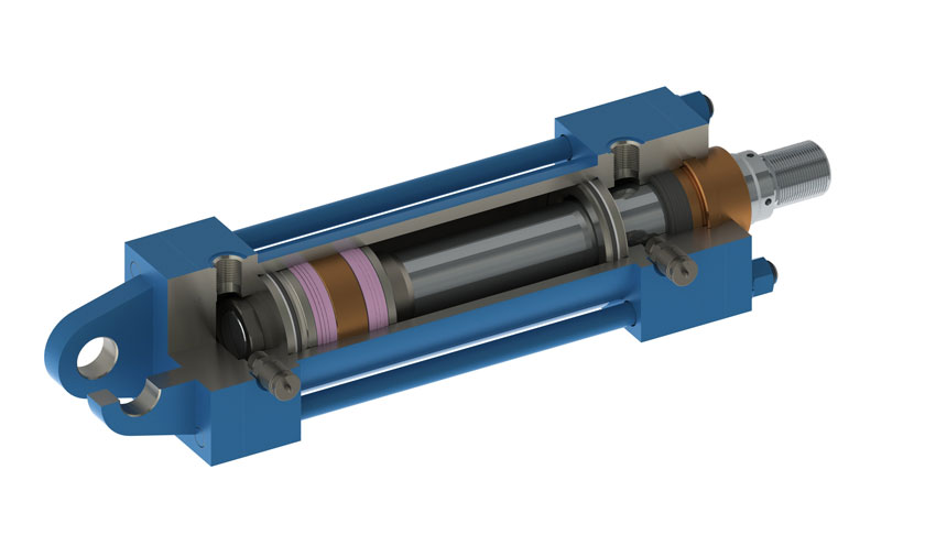 High Performance Sealing Solutions SealFluid Hydraulic Cylinders Design - for Fluid Power Hydraulic and pneumatic applications