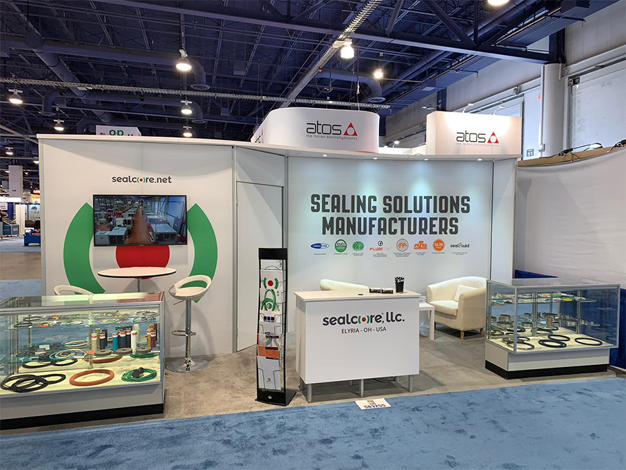 High Performance Sealing Solutions SealFluid IFPE-CONEXPO 2020 - Events Agile Sealing, Con Expo, Con Expo Con Agg, ConExpo 2020, Core Of Competence, Core Of Control, High Performance Heart, Hydraulic Seals, IFPE, IFPE 2020, Seal The Power, sealcore, sealcore network, sealing solutions, Think Big, Think Sealing, Tough Seals   - for Fluid Power Hydraulic and pneumatic applications