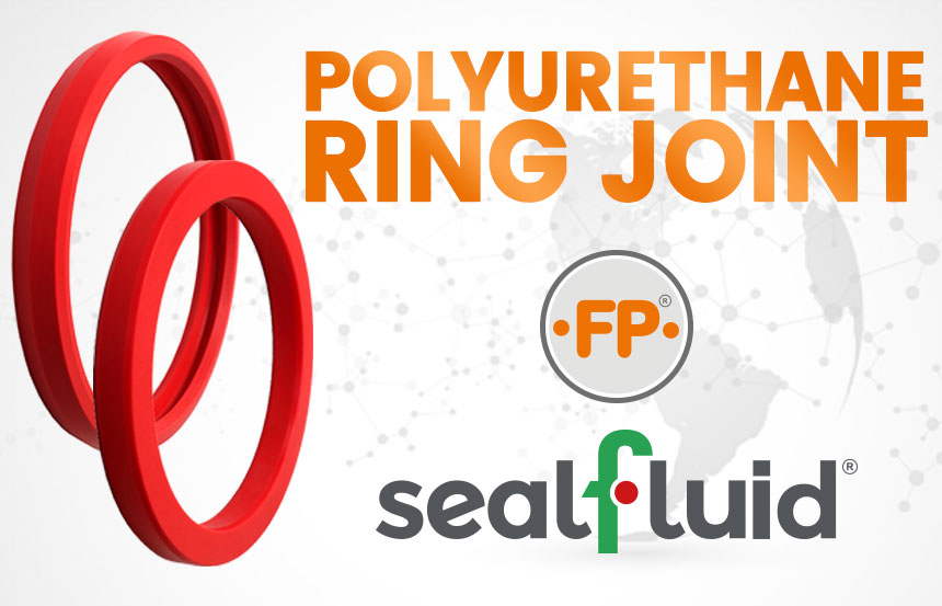 polyurethane ring joint sealfluid special ring joints in polyurethane requested from the Valves industry innovative solution to perform flanges pressure test avoiding damage on the flange's groove