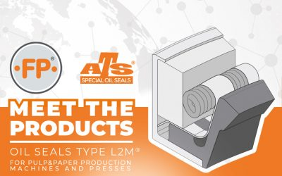 L2M® Family of seals for pulp&paper production machines and Presses